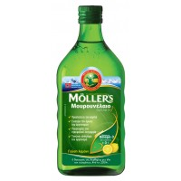 Moller's  Cod Liver Oil Lemon 250ml