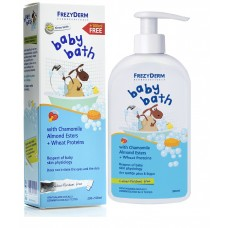 Frezyderm Baby Chamomile Bath with Almond Esters and Wheat Proteins  200ml &  ΔΩΡΟ επιπλέον 100ml