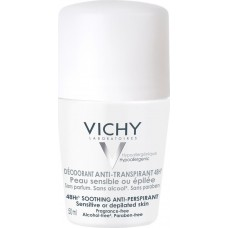 Vichy Deodorant Anti-Transpirant Sensitive 48h Roll-on 50ml