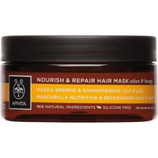 Apivita Hair Mask Nourish & Repair with Olive & Honey 200ml